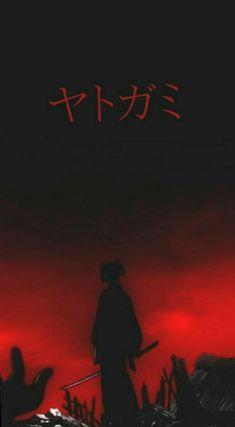 Japanese Wallpaper Iphone, Dark Wallpaper Iphone, Anime Wallpaper Phone, Skull Wallpaper, Red Wallpaper, Yatogami Noragami, Noragami Anime, Wallpaper Naruto Shippuden, Naruto Wallpaper
