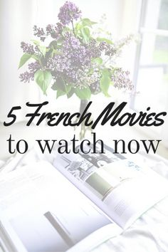 french movies learn french selfrench tips French Learning Books, French Language Learning, Teaching French, Foreign Language, Language Arts, Learn French Online, Learn To Speak French, Movies To Watch Now, French Articles