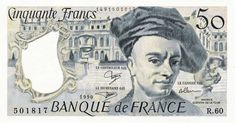 Collection Billet Banque de France - F.67 - 50 francs Quentin de la Tour