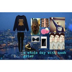 """""""nash grier outfit 2"""" by galaxydoritos557 on Polyvore"""