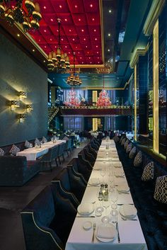 Sass Cafe Dubai (United Arab Emirates), Middle East & Africa restaurant///Designer: Prospect Design