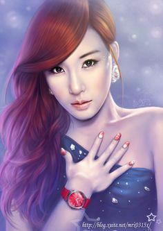 SNSD Tiffany by mrx0315x