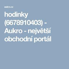 hodinky (6678910403) - Aukro - největší obchodní portál Portal, Boarding Pass, Pandora
