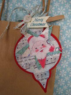 Lori Hairston: Christmas Fun at The Cutting Cafe  Christmas ornament fun set