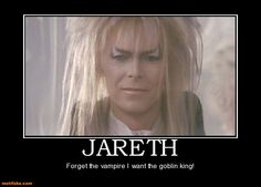David Bowie as Jareth in Labyrinth David Bowie Labyrinth, Labyrinth 1986, Labyrinth Movie, Goblin King, Jennifer Connelly, Labyrinth Goblins, Hobbit, The Thin White Duke, Demotivational Posters
