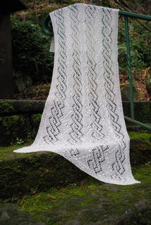 Free pattern - summer shawl