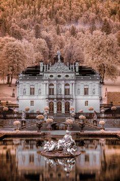 Linderhof Palace, Ettal Abbey, Bavaria, Germany