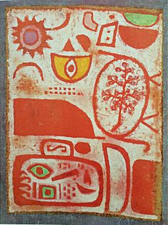 Paul Klee, Intoxication on ArtStack #paul-klee #art