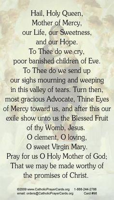 Love saying this prayer.