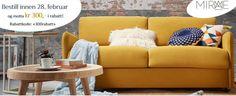 Bestill på www.mirame.no innen 28. Februar og få  kr. 300,- i rabatt😉 #mirame #interior #interiør #design #nettbutikk #speil #møbler #sofa #tvbenk #spisebord #stol #alttilhjemmet #fådetfint #innredning #drømmehjem #sengegavl #rabattkode #tilbud #løpogkjøp #nordiskehjem #nordiskdesign