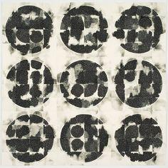 Eunice Kim / Tessellation (144-3) #9 / collagraph monoprint / 36x36 inches / 2012 / edition: unique.