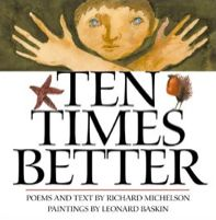 Ten Times Better by Richard Michelson. Descriptions of different animals highlight the numbers from one to ten and their multiples of ten, such as a sloth having three toes while a centipede has thirty feet. Math Literature, Math Books, Teaching Multiplication, Teaching Math, Maths, Math Math, Math Games, Math Homework Help, Math Place Value