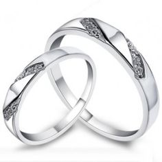 Share on your Google+/Facebook timeline or Pin it to get instant discount coupon. 925 Sterling Silver Korean Name Engraved Promise Couple Rings for Two