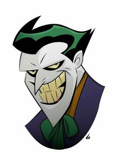 The Joker by Bruce Timm Joker Art, Batman Vs Superman, Joker Joker, Joker Kunst, Joker Film, Joker Drawings, Batman Poster, Batman The Animated Series, Bruce Timm