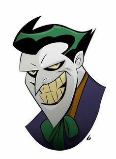 The Joker by Bruce Timm Joker Batman, Joker Art, I Am Batman, Batman Art, Joker Drawings, Easy Drawings, Joker Kunst, Joker Film, Joker Und Harley Quinn