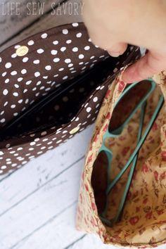 sunglasses case sewing tutorial