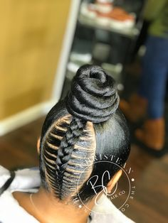 120 The Choice of Pleasant Women Ghana: Hairstyles Black Hair Updo Hairstyles, Hair Ponytail Styles, Braided Hairstyles For Black Women, African Braids Hairstyles, Braids For Black Hair, Weave Hairstyles, Dance Hairstyles, Natural Hair Styles, Short Hair Styles