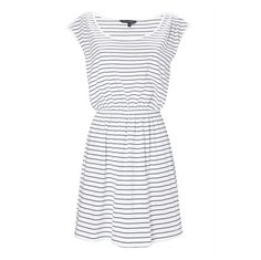 lovely! any accessory with a bright accent would look amazing with this dress.