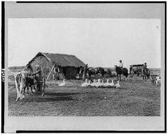 Casa de un inmigrante en Argentina (sacada entre 1900 y 1923)