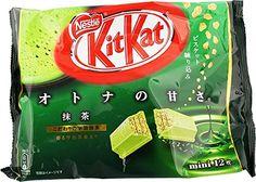 Japanese Kit Kat - Maccha Green Tea Bag 4.91 oz Nestle