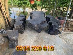 Bàn ghế đá tự nhiên cao cấp - Mẫu bàn ghế đá đẹp
