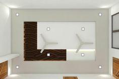Ideas Guest Bathroom Lighting Ceilings For 2019 Simple False Ceiling Design, Gypsum Ceiling Design, House Ceiling Design, Ceiling Design Living Room, False Ceiling Living Room, False Ceiling For Hall, Fall Ceiling Designs Bedroom, Bedroom False Ceiling Design, Bedroom Cupboard Designs
