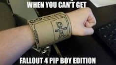 Fallout 4 | Pip-Boy Substitute