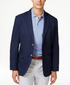 Tasso Elba Men's Island End-On-End Two-Button Sport Coat, Only at Macy's
