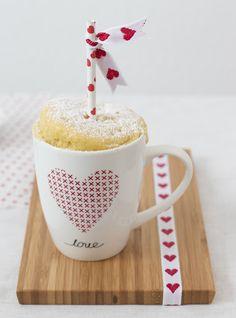 Valentine Mug-Cake - Rama Cremefine Blog