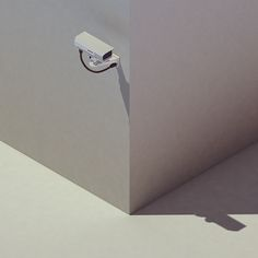 Isometric low poly security camera by Michiel van den Berg
