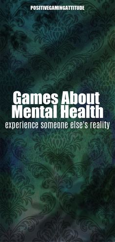 Video games that try to convey the experience of various mental health issues. Experience someone else's reality. Self-expression and education. Stanley Parable, Types Of Stress, All Video Games, Obsessive Compulsive Disorder, Mental Health Problems, Chronic Fatigue Syndrome, Gaming Memes, Mental Health Awareness, Funny Games
