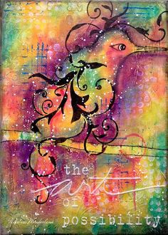Nika Rouss Mixed Media Bird Tutorial