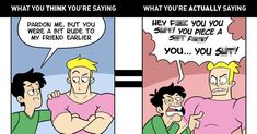 """In Vino Veritas View """"What You Think You're Saying When You're Drunk vs What You're Actually Saying"""" and more funny posts on CollegeHumor College Humor, What You Think, Funny Comics, Thinking Of You, Dorkly, Lol, Sayings, Random, Disney"""