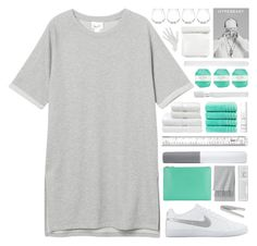 """all about me..."" by cinnamon-and-cocoa ❤ liked on Polyvore featuring Monki, NIKE, Uniqlo, Christy, Supersmile, This Works, Ralph Lauren Home, Pelle, Kate Spade and Thelermont Hupton"