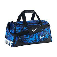 b8c229fd56 Rebel Sport - Nike Junior Ya TT Small Duffle Black/Blue Small Nike Duffle  Bag