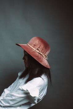 Truly a unique statement piece. This floppy hat has a swirl dye finish so no ea481bbe2175