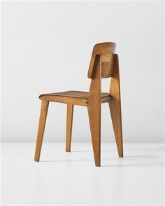 JEAN PROUVÉ - All wood Standard Chair