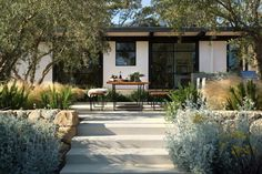 Montecito family home gets remarkable indoor-outdoor makeover Indoor Outdoor, Outdoor Spaces, Outdoor Living, Outdoor Kitchens, Exterior Design, Interior And Exterior, Haus Am See, Land Scape, Landscape Design