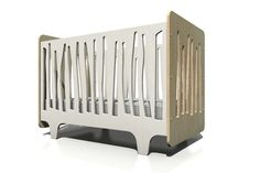 Numi Numi Design Funky Forest Crib. So unique! #nursery #crib #myurbanchild