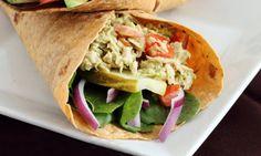 Avocado Tuna Salad Wrap I SpryLiving.com