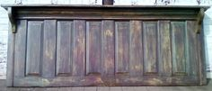 This is a reclaimed Antique Door made into a Headboard. This Headboard is oversized it is 83 inches long a standard is 80 inches we add 3 inches to the door check out our other Items The Depot Architectural Antiques on Facebook.