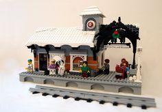 Winter Village Expansion Idea - Train Depot