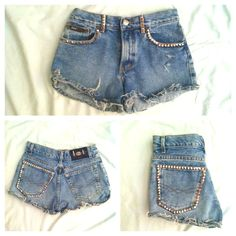 DIY shorts.Cool idea :)