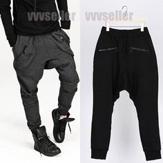 Qualified Jumpsuit Harem Trousers Men High Street Hip Hop Casual Long Sleeve Jumpsuit Cargo Pant Male Streetwear Overalls Couple Clothes Cargo Pants