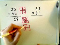 Two digit multiplication for uil Two Digit Multiplication, Multiplication Strategies, Teaching Multiplication, Teaching Math, Maths, Fun Math Games, Math Activities, Math Tutor, Tips & Tricks