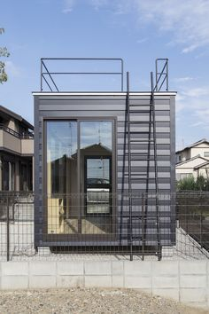Container house where personality is enviable Cargo Container Homes, Container Shop, Building A Container Home, Container Buildings, Container Architecture, Eco Architecture, Container House Design, Amazing Architecture, Staircase Outdoor