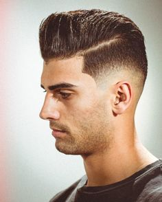 Pompadour Hairstyles for Men http://www.menshairstyletrends.com/pompadour-hairstyles-for-men/ #menshair #menshairstyles #pompadour #pompadourhaircut #pompadourhairstyles #pompfade #menshair2017