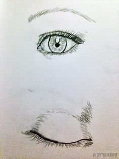How to Draw - sketching the eye