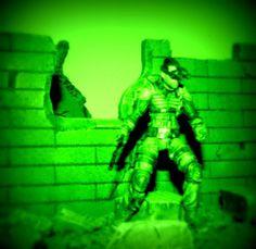 SPLINTER CELL CUSTOM Sam Fisher Blacklist Action Figure Call of Duty 4.75/4.0 in #www.infinitemarketing.info