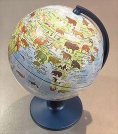 Animals Globe -  #Globe #Stanfords